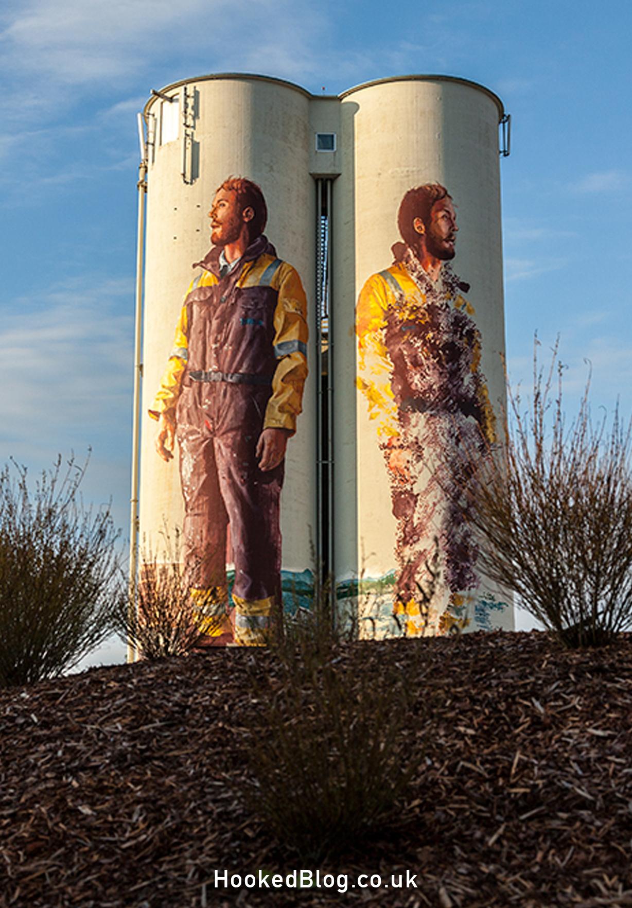 Stavanger Street Art Mural by Fintan Magee in Norway