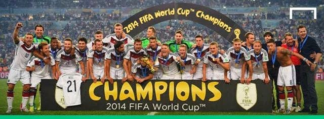 FIFA World Cup 2014 - Germany is the new Winner