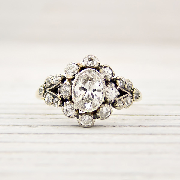 erstwhile jewelry vintage victorian engagement ring 7877 - {Frosted Find}  Erstwhile Jewelry