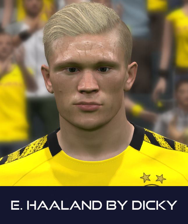 Pes 2017 Faces Erling Haaland By Dicky Soccerfandom Com Free Pes Patch And Fifa Updates