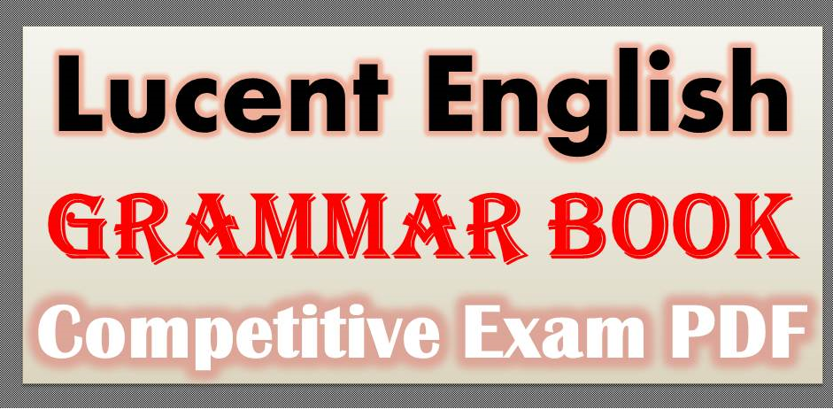 English grammar pdf | bankexamstoday.