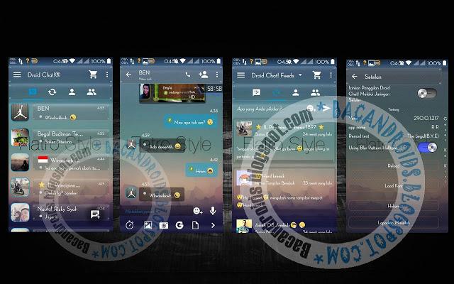 BBM Mod DroidChat