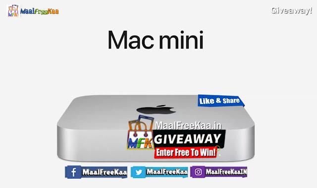 Enter to Get Free Apple Mac Mini M1