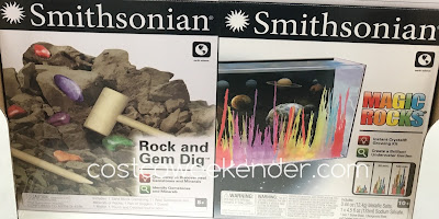 Smithsonian Rock and Gem Dig and Magic Rocks Science Kits
