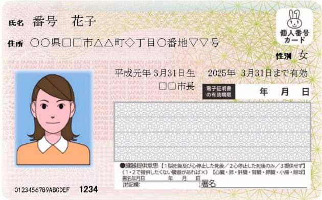 iOS 13 Japan My number card