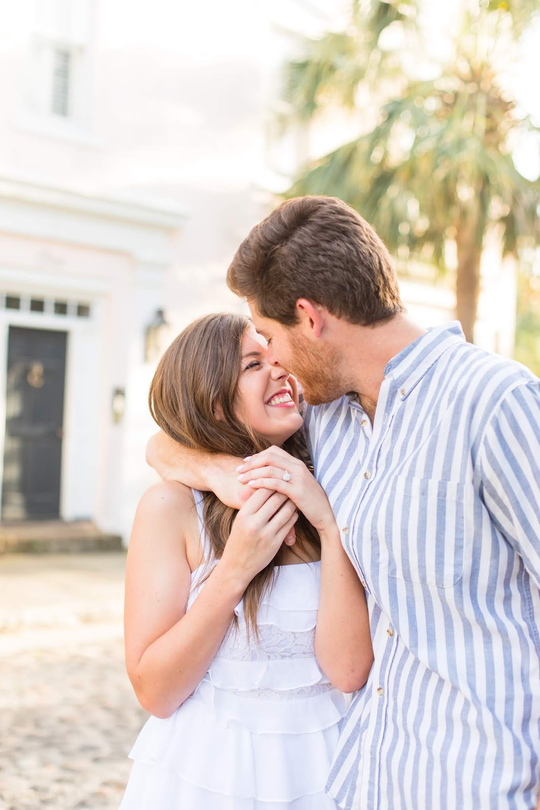Charleston Engagement Photoshoot - Chasing Cinderella
