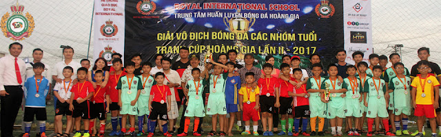 Giải bóng đá tranh cúp Hoàng Gialần 2