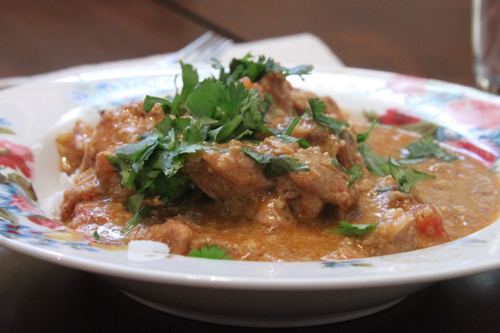Everyday foodie easy slow cooker butter chicken its not the most authentic elaborate indian food weve ever made but its quick to throw together and fool proof and well definitely make it again if forumfinder Gallery
