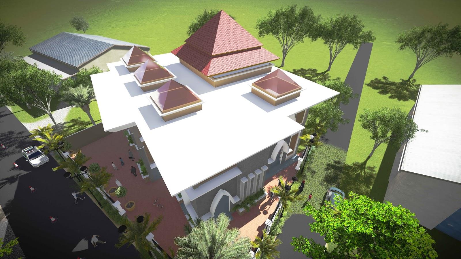 Dapatkan Contoh Gambar Masjid Minimalis Warnaigambar Website