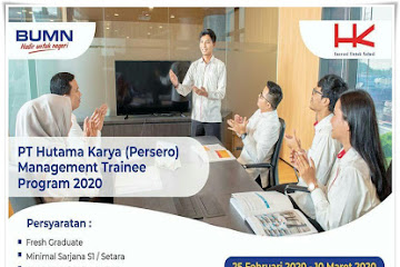 Lowongan Kerja Bandung Karyawan PT. Hukama Karya