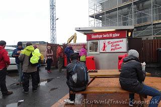 雷克雅未克 Reykjavík ,Beztu Pylsur熱狗, hot dog