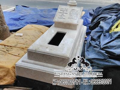 Model Makam Marmer, Model Kuburan Minimalis, Model Makam Marmer Tulungagung