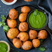 Jowar Vada - Sorghum Fritters