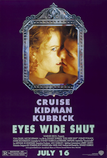 Cartel original de la película Eyes Wide Shut, 1999