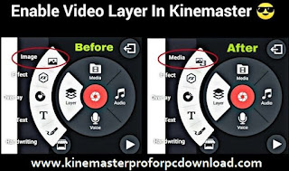 Enable Video Layer In Kinemaster