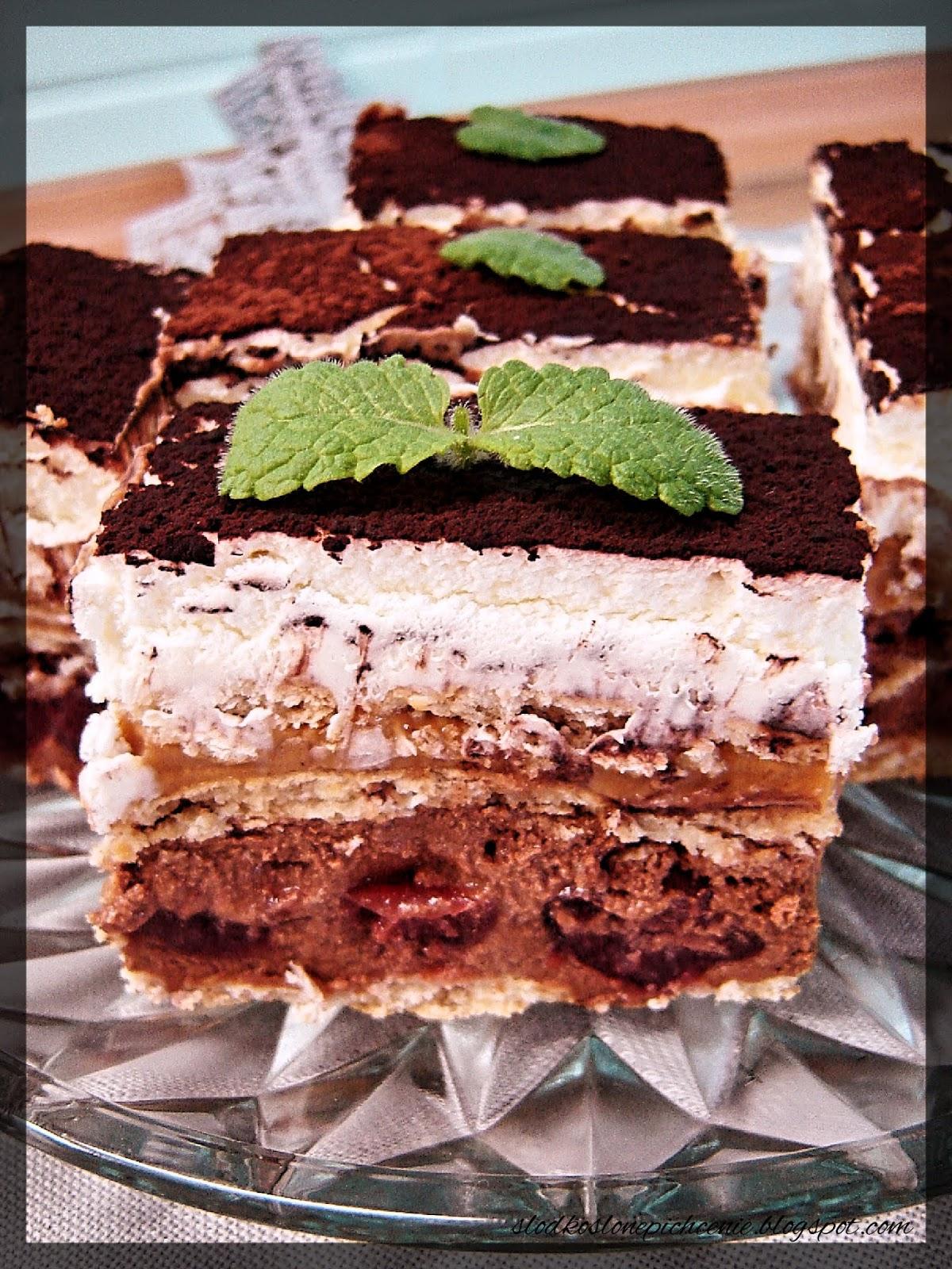 Krówka czekoladowa z wiśniami