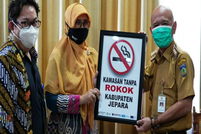 Pemda Jepara Rencanakan Buat Perda Kawasan Tanpa Rokok