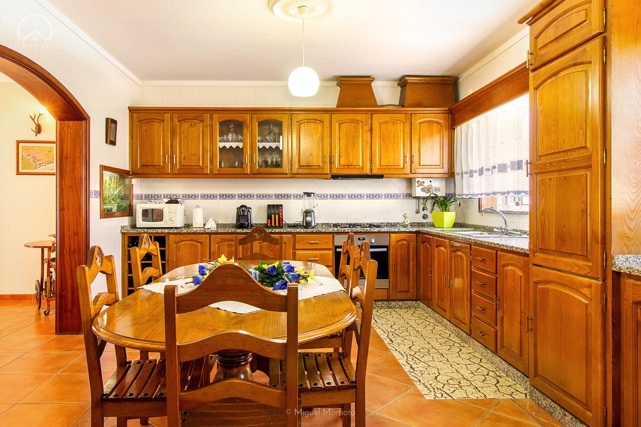 cozinha mesa madeira