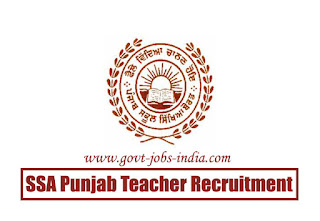 SSA Punjab ETT Teacher Recruitment 2020