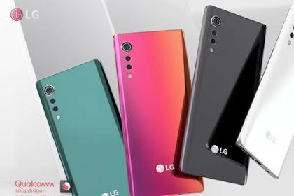 LG Velvet Smartphone Android Dengan Kamera Utama 48MP dan RAM 8GB