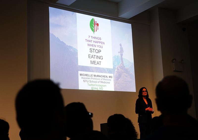 Veganreise New York NY Vegetarian Food Festival Michelle Mcmacken