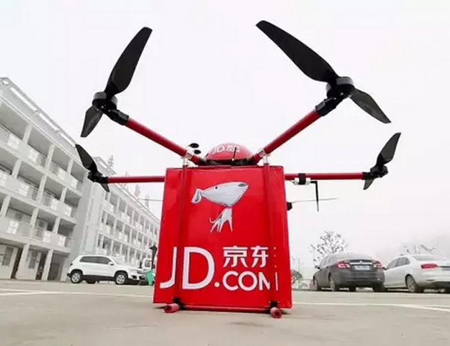 Tinuku JD.com launched self-driving trucks for logistics systems