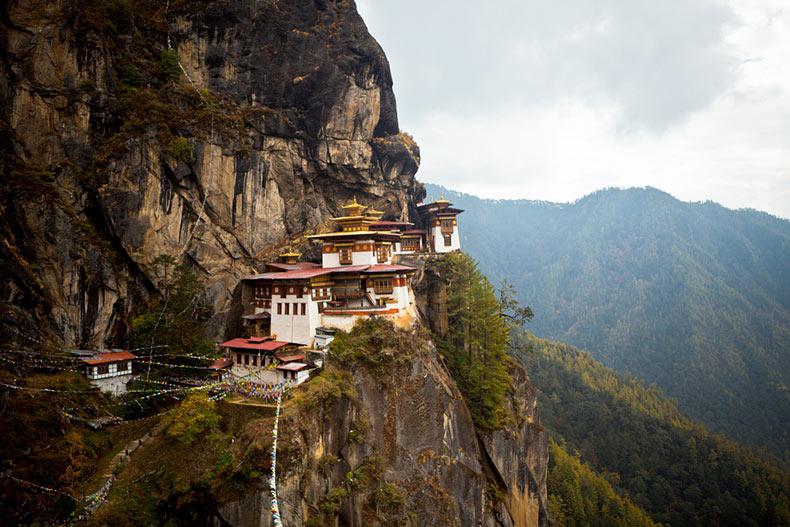 El Nido del Tigre, la joya del Himalaya | Bután