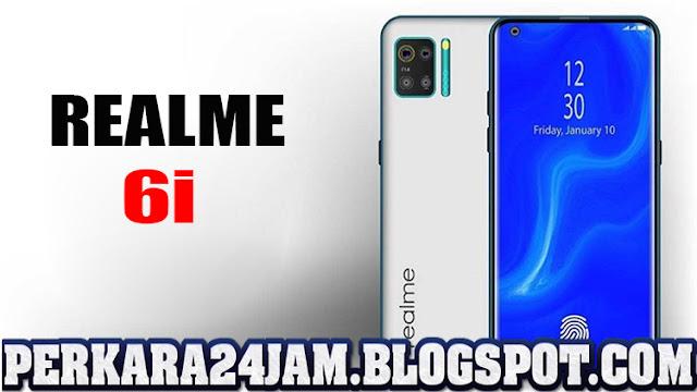 Smartphone Realme 6i Punya Kamera Selfie 16 MP