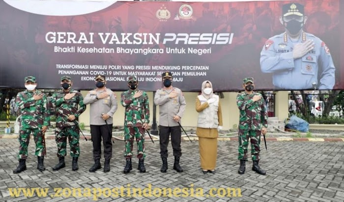Percepat Proses Vaksinasi, Kapolda Jatim: Sesuai Intruksi Panglima TNI dan Kapolri Kami Akan Buka Gerai Vaksinasi