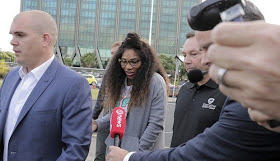 Newly Eng@ged Serena Williams Touches Down New Zealand