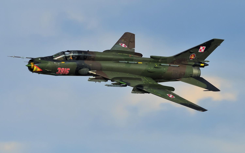 Sukhoi Su-22 of Poland...F 22 Cockpit Wallpaper