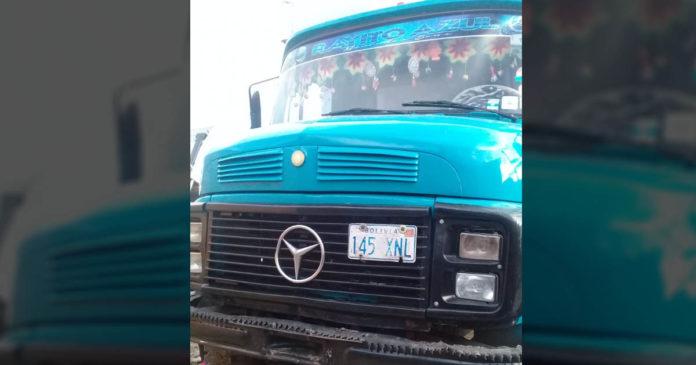El camión repartidor de cervezas y gaseosas donde los asesinos subieron solo para matar a los niños / RRSS