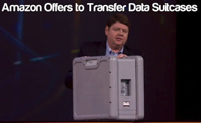 Amazon Offers to Transfer Data Suitcases