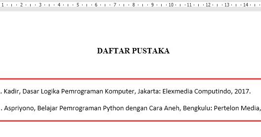 Membuat Kutipan Dan Daftar Pustaka Yang Otomatis Di Microsoft Word