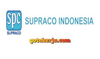lowongan pt supraco indonesia