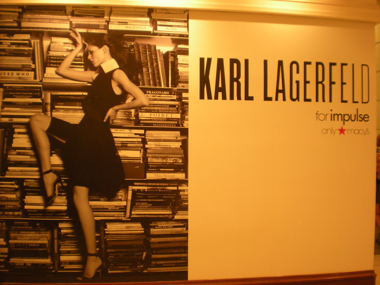 it chat karl lagerfeld for impulse at macy 39 s. Black Bedroom Furniture Sets. Home Design Ideas