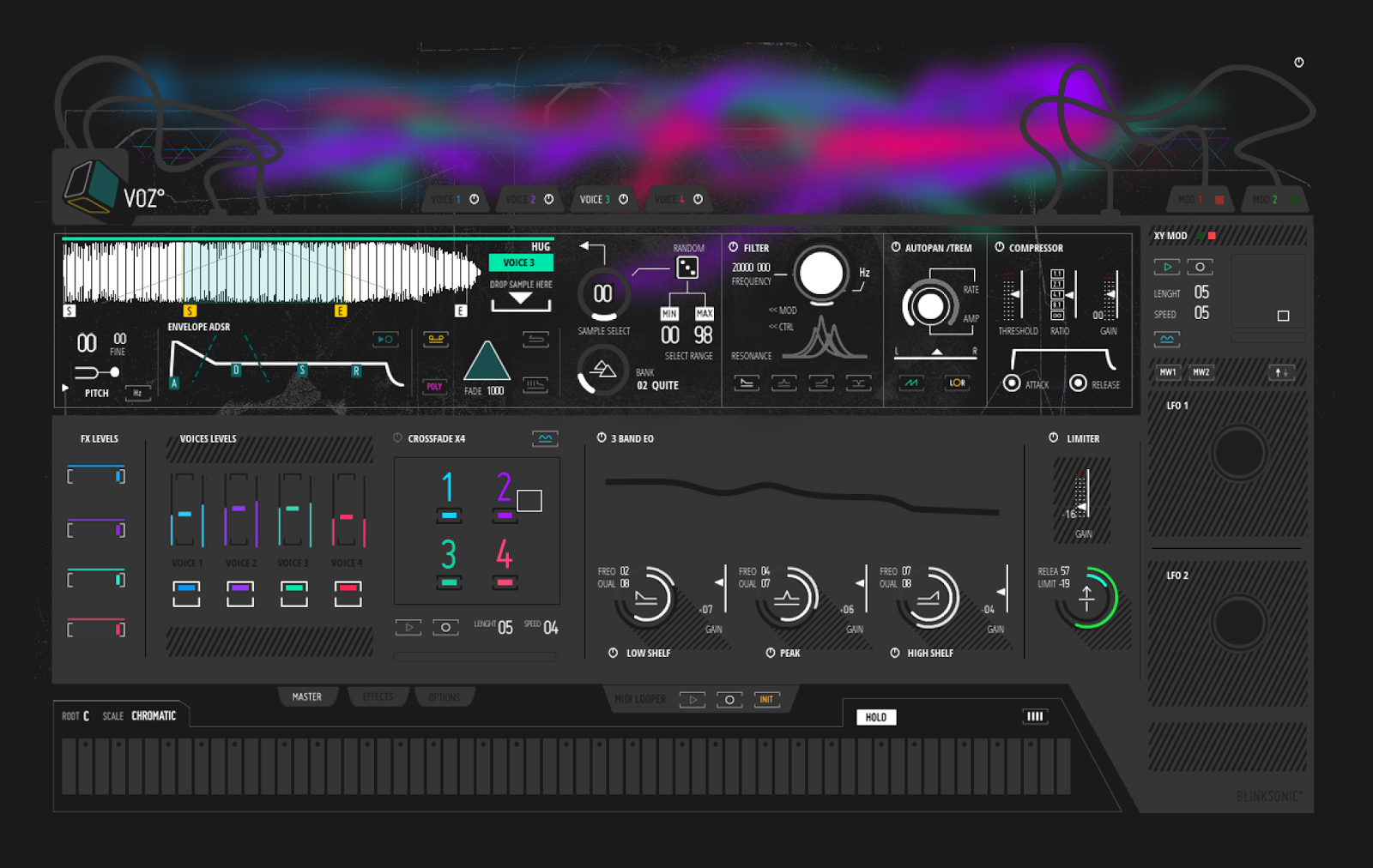 Create Unusual Vocal Instruments With The New Blinksonic VOZ
