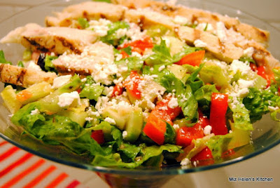 Greek Chicken Salad at Miz Helen's Country Cottage.com