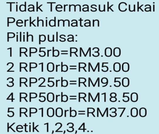 Cara Transfer Pulsa Listrik Dari Malaysia Ke Indonesia