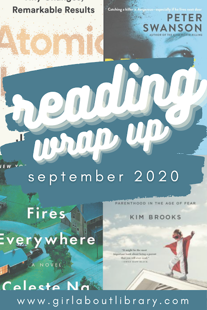 reading wrap up september 2020 books read