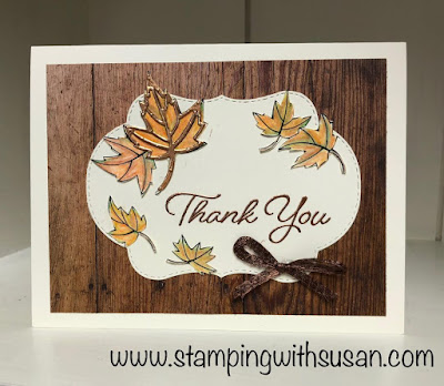 Stampin' Up!, www.stampingwithsusan.com, Blended Seasons Bundle, Watercolor Pencils