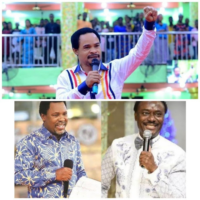 You Need A Dirty Slap - Prophet Odumeje Slams Chris Okotie Over Attack On Late TB Joshua (Video)