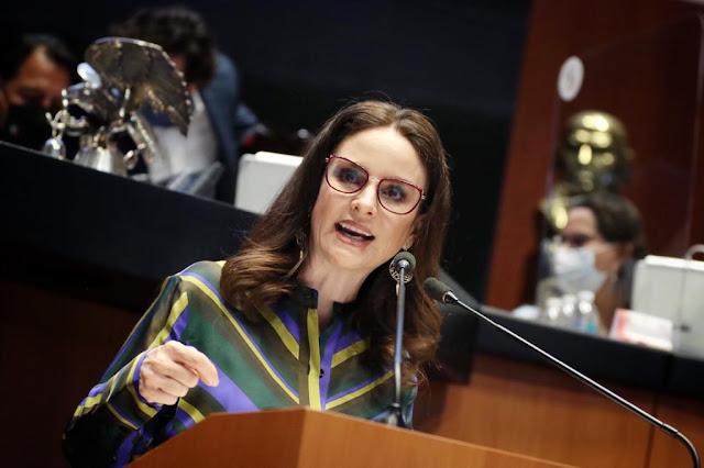 """Propone Nancy de la Sierra reformar la ley de amparo para eliminar el principio conocido como """"fórmula otero"""""""