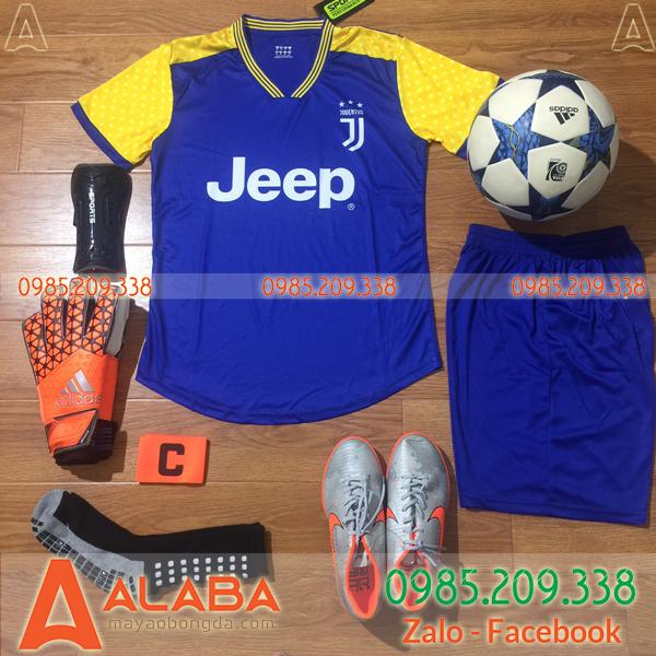 Áo Juventus 2020 xanh duơng