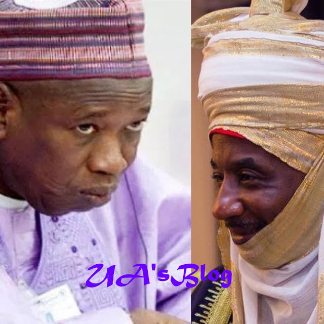 BREAKING: Ganduje queries Sanusi over 'financial misappropraition'
