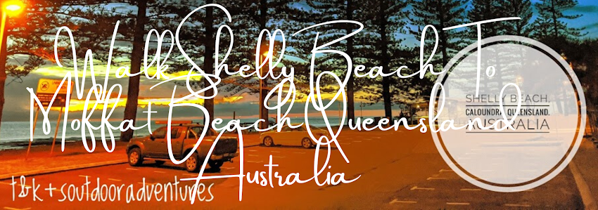 Walk Shelly Beach To Moffat Beach Queensland Australia