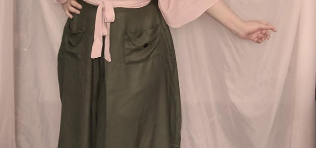 saia calça vintage 1940s