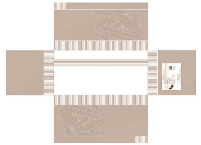 plantilla caja zapatos, box pattern, manualidades, enrhedando