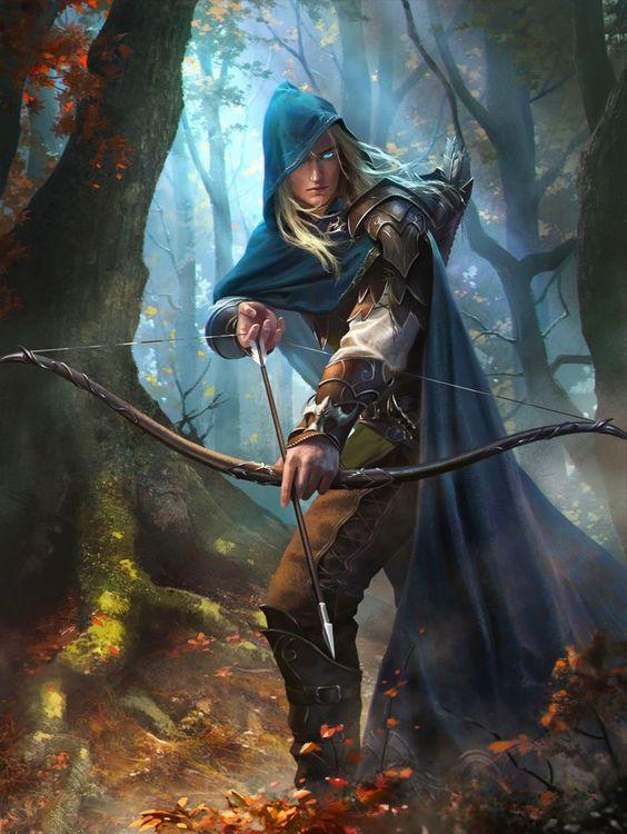 Opening Range - Elven Ranger