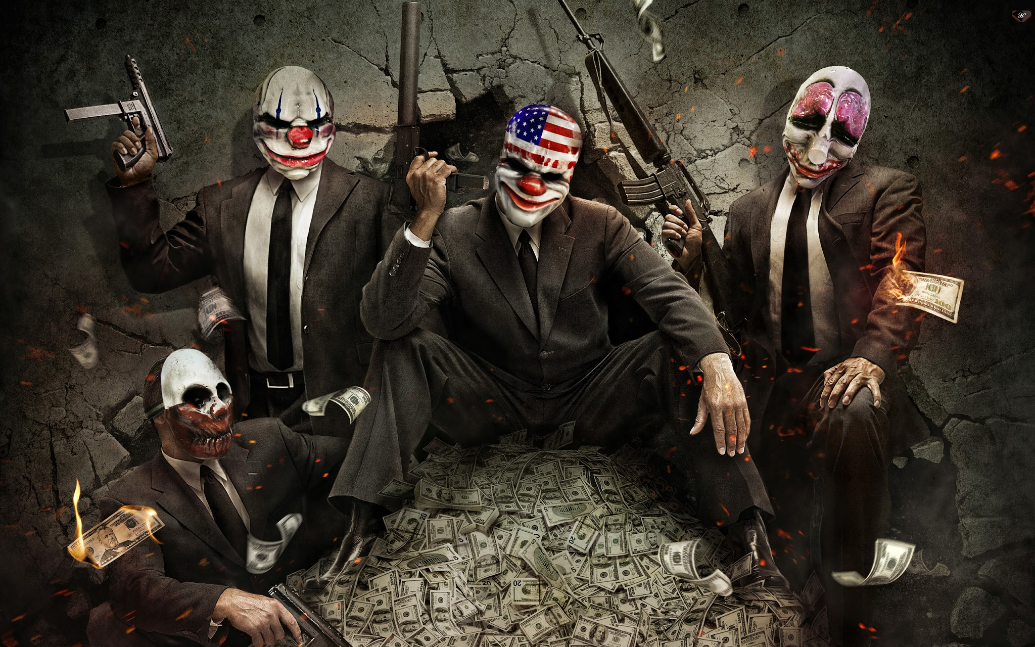 Wallpapers Para Games Wallpapers Payday 2
